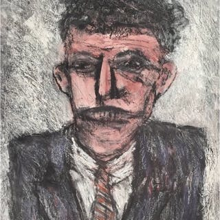 Berry, Arthur (1925 – 1994) – Man in Suit & Tie - Trent Art