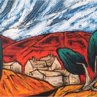 Capper, Steve (1944 – ) The Big Farm - Trent Art