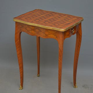 Fine Continental Occasional Table in Kingwood - Nimbus Antiques