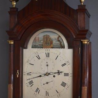 George III Longcase Clock by Robert Wood, London - Nimbus Antiques