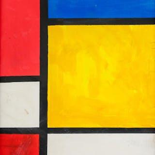 Piet Mondrian Dutch De Stijl Oil on Canvas