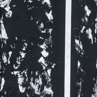 Barnett Newman American Abstract Oil on Canvas