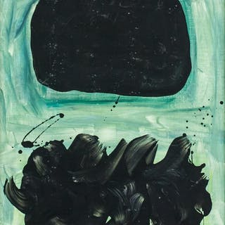 Adolph Gottlieb American Abstract Oil on Canvas