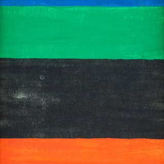 Ellsworth Kelly American Abstract Oil on Canvas
