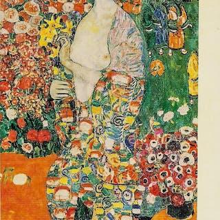 Gustav Klimt Austrian Nouveau Signed Litho 25/100