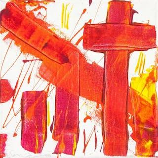 Sam Francis American Abstract Acrylic on Canvas