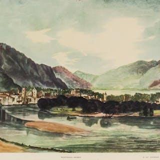 "Albrecht Durer NYGS Litho Paper ""View of Trent"""
