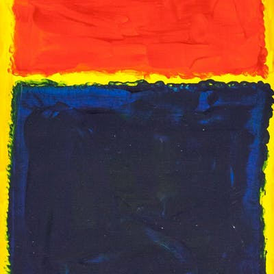 Mark Rothko American Abstract Oil on Canvas