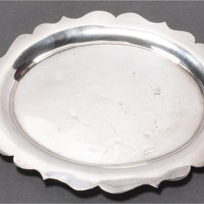 English Sterling Silver Drinks Tray