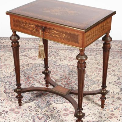 Fine 19th Century French Kingwood and Rosewood