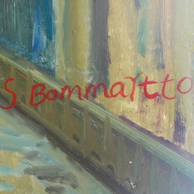S. Bommartto Oil Painting
