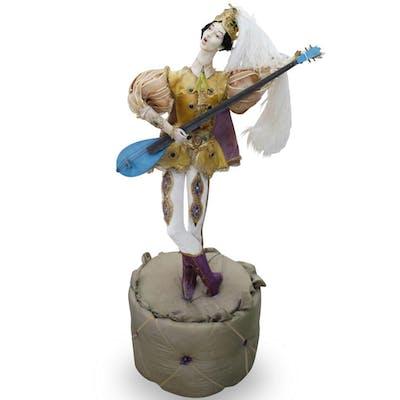 Life-Size Wooden Mannequin Ballerina
