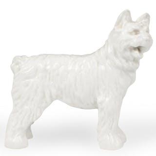 Herend White Glaze Dog Figurine – Current sales – Barnebys com