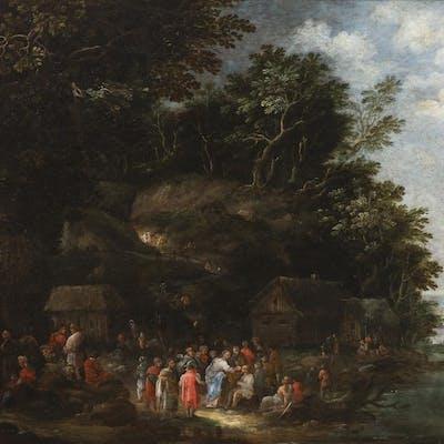 Franz Hartmann (1697 - 1728) - Christ Healing the Sick