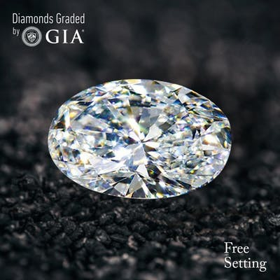 3.01 ct, E/VS2, Oval cut Diamond, 54% off Rapaport List Price (GIA