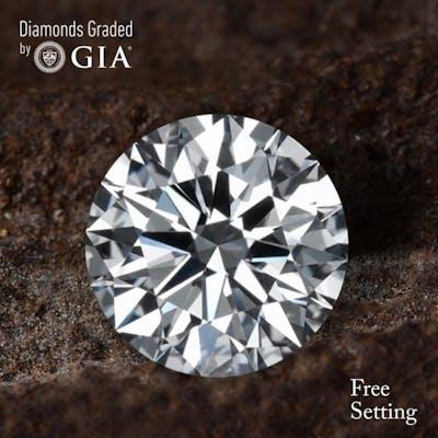 4.02 ct, D/FL, Round cut Diamond, 46% off Rapaport List Price (GIA