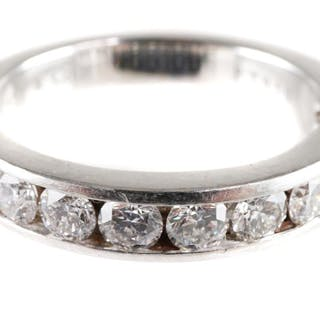 TIFFANY & CO Platinum & Diamonds Ring