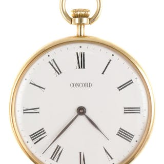 CONCORD 14K Gold Pocket Watch