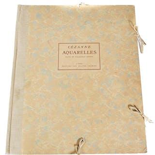 PAUL CEZANNE, Aquarelles, Pochior Prints, 1926