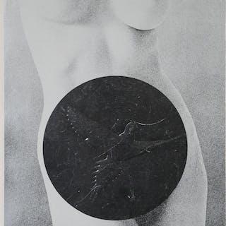 MEL RAMOS, Nude Lithograph, Leda