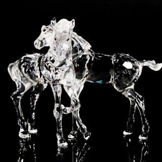 SWAROVSKI Crystal Foals Figurine