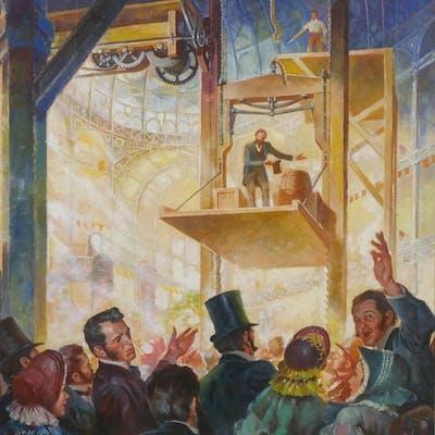 HERMAN GIESEN, Original Illustration Art