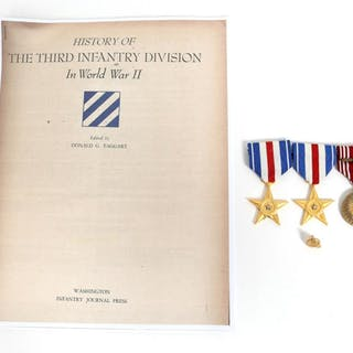 VIETNAM WAR NAMED SILVER STAR MEDAL