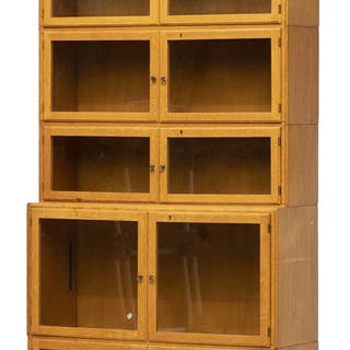 * 1920s Light Oak Bookcase