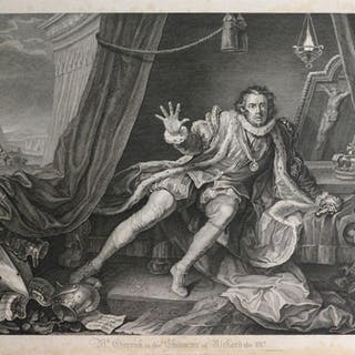 * Hogarth (William), A collection of approximately 110 engra