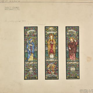 * Powell (James & Sons). Original designs for stained glass