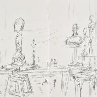 * Giacometti (Alberto, 1901-1966). Derriere le Miroir, Mai 1