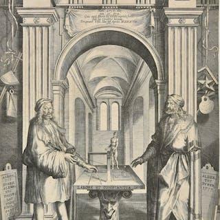 * Kilian (Lucas, 1579-1637). Albrecht Durer im Ruhmestempel