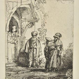 * Rembrandt (Harmensz. van Rijn, 1606-1669). Three Oriental