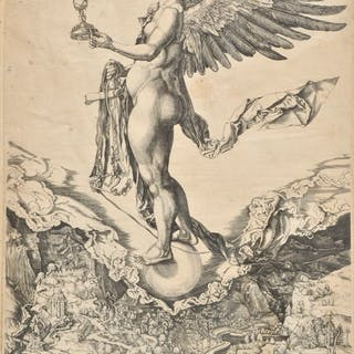 * Wierix, Hieronymus, 1553-1619. Nemesis (The Great Fortune)