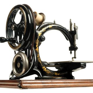 * Sewing machine. A late 19th century sewing machine by Will