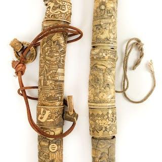 * Japanese Swords. A Japanese katana