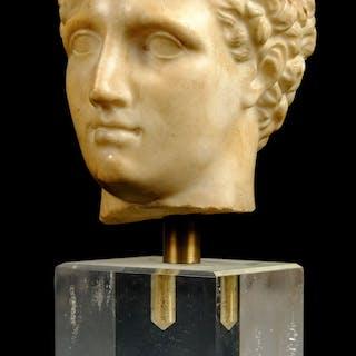 * Grand Tour. Head of Hermes, 18th century