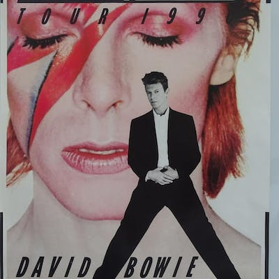 DAVID BOWIE LOT - (7 in Lot) - Large selection of various DA