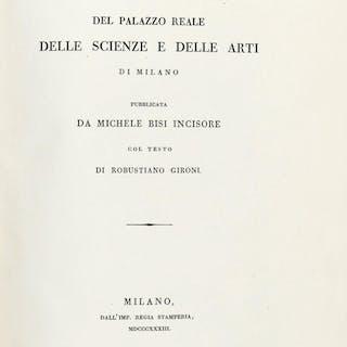 Gironi Robustiano, Pinacoteca del Palazzo reale delle scienz