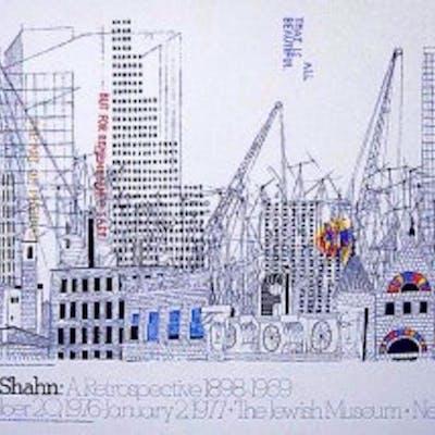 BEN SHAHAN 1898-1969 A RETROSPECTIVE JEWISH MUSEUM NY