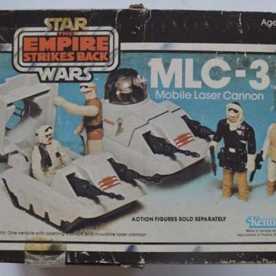 STAR WARS EMPIRE STRIKES BACK MLC-3 MOBILE LASER CANNON