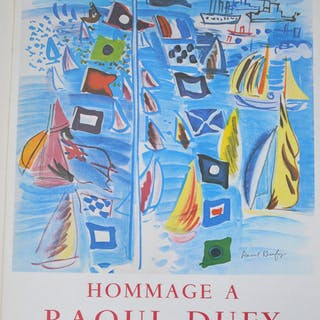 RAOUL DUFY- HOMMAGE