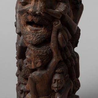 Makonde Carved Ebony Sculpture