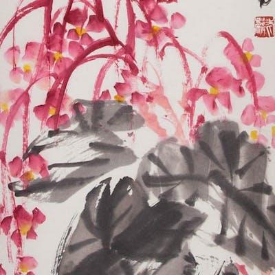 XU LINLU (1916-2011), FLOWER