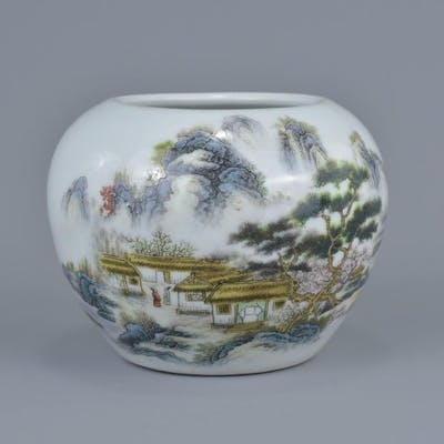 A Chinese mid 20th century porcelain jar