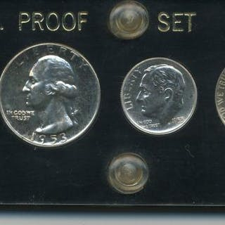 1953 US Proof 5 Coin Set