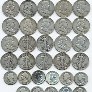 $15.45 Face Value Better U.S. Silver Coins
