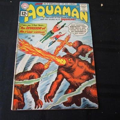 Aquaman #1 1962 12c Invasion of Fire-Trolls