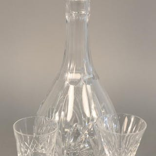 Nineteen piece Waterford crystal lot to include decanter (ht