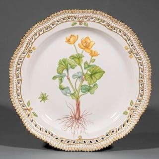 Royal Copenhagen Porcelain Cake Plate